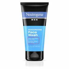 Neutrogena Men Invigorating Face Wash 5.10 oz (Pack of 2)
