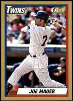 2015 Topps Archives 1990 5X7 Joe Mauer B #/49