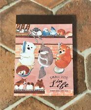 Memo Pad  Shiba Inu Corgi Dog  Bird 80sheets Stationery Japanese