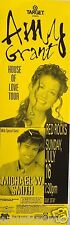 """Amy Grant / Michael W. Smith """"House Of Love Tour"""" 1995 Denver Concert Poster"""