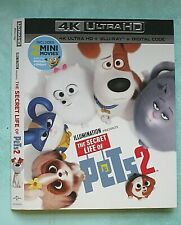 SECRET LIFE OF PETS 2, SUICIDE SQUAD HELL TO PAY  4K Blu ray slipcover