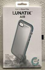 LunaTik Air Protection Case For iPhone 8 Plus 7 Plus Vapor Blue