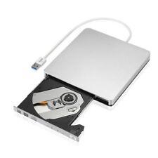 Externo delgado USB 3.0 DVD Grabadora DVD-RW VCD CD RW Dispositivo Grabador L9E2