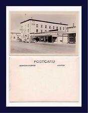 CANADA YUKON WHITEHORSE INN AND CAFE MAIN ST REAL PHOTO POSTCARD CIRCA 1948