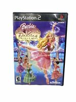 BARBIE IN THE 12 DANCING PRINCESSES PLAYSTATION 2 PS2 VIDEO GAME TESTED  Manual