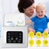 4-in1 Steriliser Kit Baby Bottles Milk Warmer Food Thaw Adjustment Timin 1@