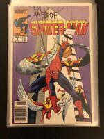 Web of Spider-Man 2 High Grade Marvel Comic Book 33-74