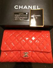 Chanel Patent Leather Quilted Bag 100% Authentic