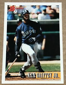 1993 KEN GRIFFEY JR BOWMAN CARD #375 SEATTLE MARINERS
