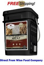 "Wise Food Company 104 Servings ""Gluten Free"" Freeze Dried Meat & Rice"