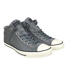 Converse Chuck Taylor All Star High Street Hi Leather Sneaker Shoe Mason Egret
