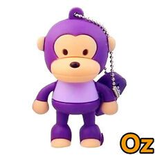 Big Mouth Monkey USB Stick, 8GB Paul Frank Quality Product USB Flash Drives