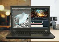 Lenovo P52 Intel Xeon E-2176M 32GB RAM - 1TB SSD - Quadro P2000 - 3 YR ADP WTY