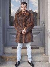 PELZMANTEL Herren Halbmantel 60er Fell Mantel TRUE VINTAGE 60s winter fur coat