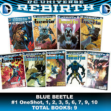 Blue Beetle 2016 ONE-SHOT 1 • 9 LOT REBIRTH DC Comic Book JLA Latino LA DC Mex