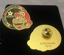 Super Mario Collectors Pin Nintendo LAPEL PIN METAL