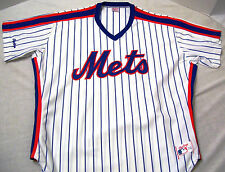 New York Mets Baseball Jersey Men's Size 44 Made in USA Rawlings Vtg. 1988