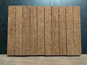 10 x Woodturning Mahogany Pen Blanks Various Sizes