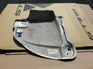 VW originales Wärmeschutzblech hinten für Schalldämpfer 5QF825701F