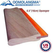 Us 65 Inch Silk Screen Printing Squeegee Ink Scraper Scratch Board 75 Durometer