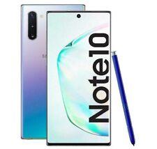 Samsung Galaxy Note 10 Grado A++ 256GB N970F DS Silver Rigenerato Ricondizionato