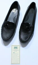 SAS Jewel Black Slip On Loafer (Size 9 W, NEW)