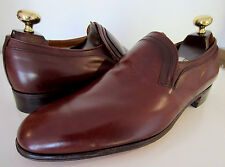 Lloyd & Haig de Cheaney Old stock marron mocassins uk 8 eu 42 us 9 f