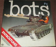 Bots, Entrüstung, VG/VG+ LP (7123)