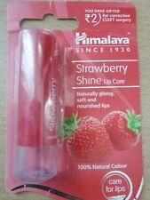 HIMALAYA  STRAWBERRY  SHINE  LIP CARE BALM 100% NATURAL COLOUR  4.5 g  UK seller