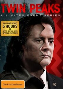 Twin Peaks - Limited Event Series (DVD, 2018, 8-Disc Set) R4