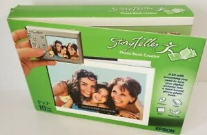 """Give a Gift - Epson Story Teller Photo Book Creator 5""""X7"""" 10 Page Book Kit New"""