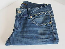 Selvage Jeans Co Korean Denim Jeans Bootcut Medium Wash Womens 26x29 Distressed