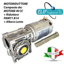 MOTORIDUTTORE 12 Volt - 630 W - 54 Rpm TRAZIONE A MAGNETI PERMANENTI