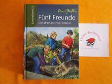 Enid Blyton Fünf (5) Freunde-Drei dramatische Erlebnisse-Sammelband Nr.12-SELTEN