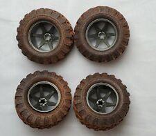 New Bright RC Wheels Set of 4 Mud Slinger Wheels Tires