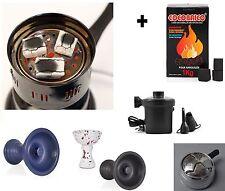 Turn on Coal + Blower + Coal cocobrico 1kg + Kaloud + Home style vortex