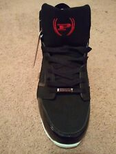 New Phat Farm Athletic Grant Black Red Mens Sneaker
