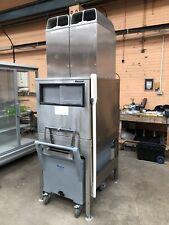 Large 600kg Production Ice Flaker Maker Machine Follett Flaked Ice Fishmonger