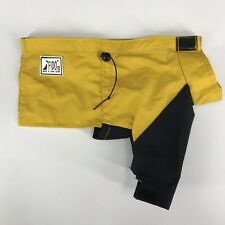 Premier Pet Products Fidos Wind & Rain Gear Dog Rain Jacket Yellow Black Sz Tiny