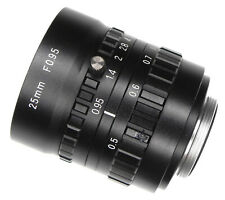 Noname Japanese 25mm f0.95 C mount  .......... MINT