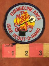 Vtg Evangeline Area Top Hat Magic Wand Magician Boy Scout Patch 75YG