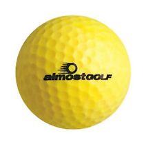 Almost Golf Limited Flight Golf Balls (3 Ball Pack) -Yellow