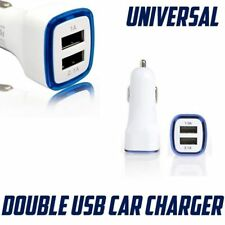 Car Charger Fast 1A 2A Double USB Adapter For Galaxy S4 S5 S6 S7 LG iPhone 5,6,7