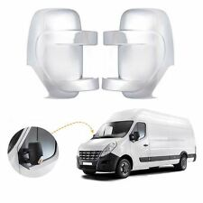 Vauxhall Movano wing mirror cover cap chrome / Left&Right BA30LR