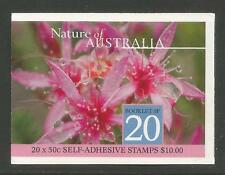 Australia 2003 Flora & Fauna sa bklt-Attractive Flower Topical (2114b) Mnh