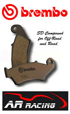 Brembo SD Sintered Front Brake Pads to fit Honda XR 250 3-5 Supermoto 2003-2005