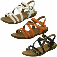 Buckle Slingbacks Textile Sandals & Beach Shoes for Women