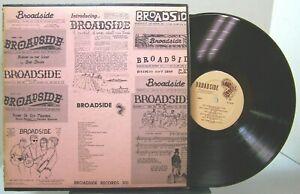 Introducing... Broadside Vol. 1 - BROADSIDE RECORDS 301 VARIOUS ARTIST