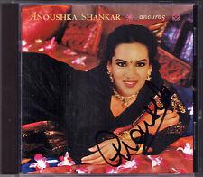 Anoushka SHANKAR Signiert ANOURAG Pancham Se Gara Shuddha Sarang Sita CD Riva