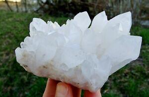 Bergkristall, Cavnic, Rumänien Mineralien (12 x 8,7 x 9,2 cm)
